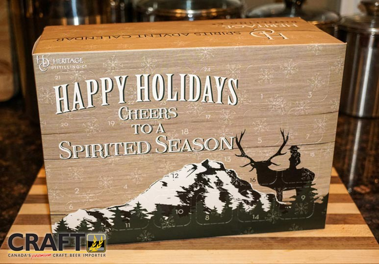 craft beer spirits calendar