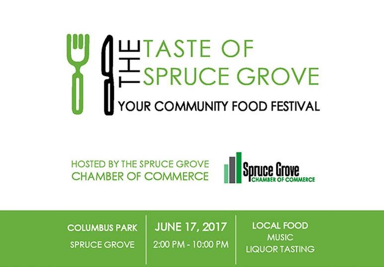 taste of spruce grove