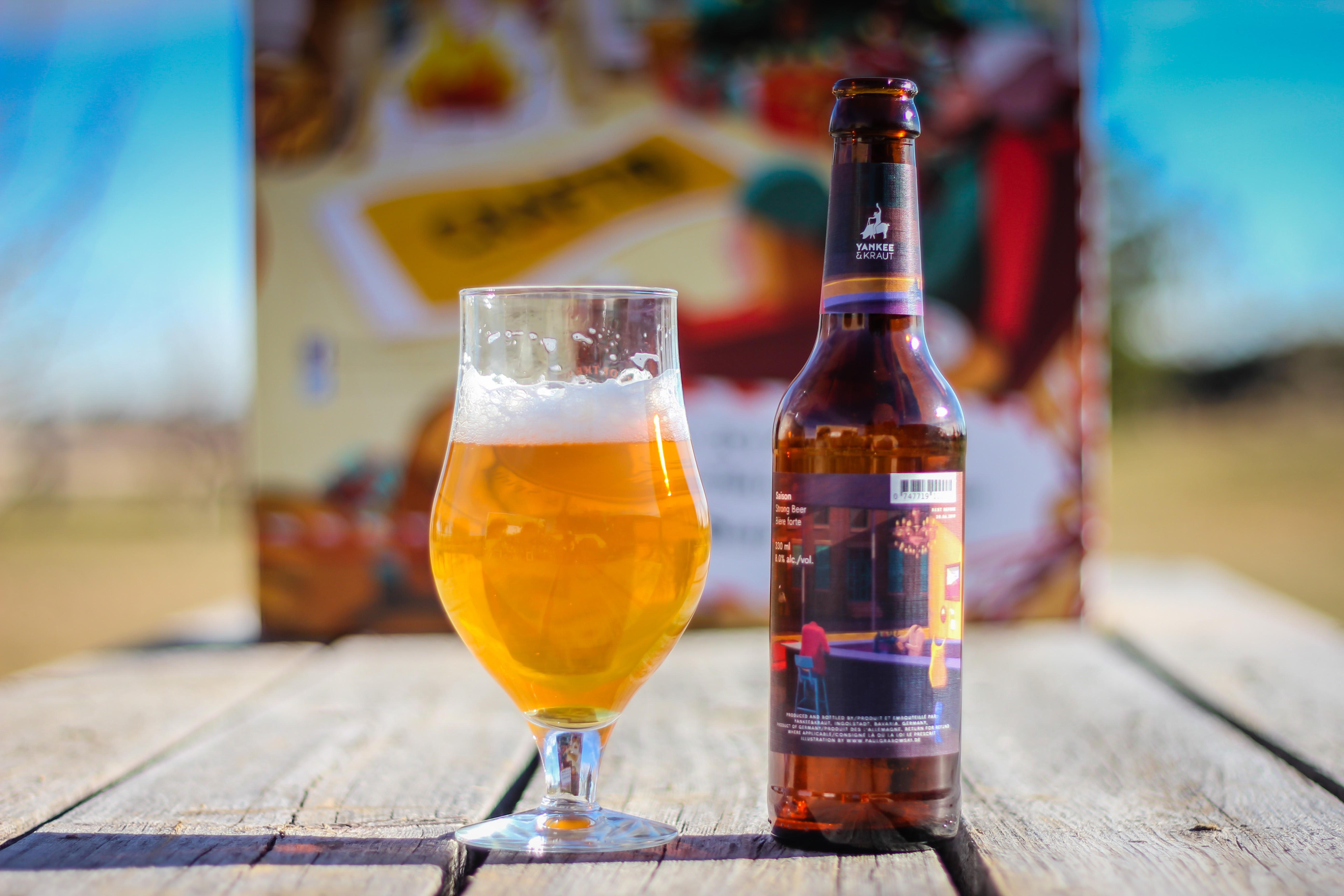 2018 Craft BeerAdvent Calendar: Yankee & Kraut Saison