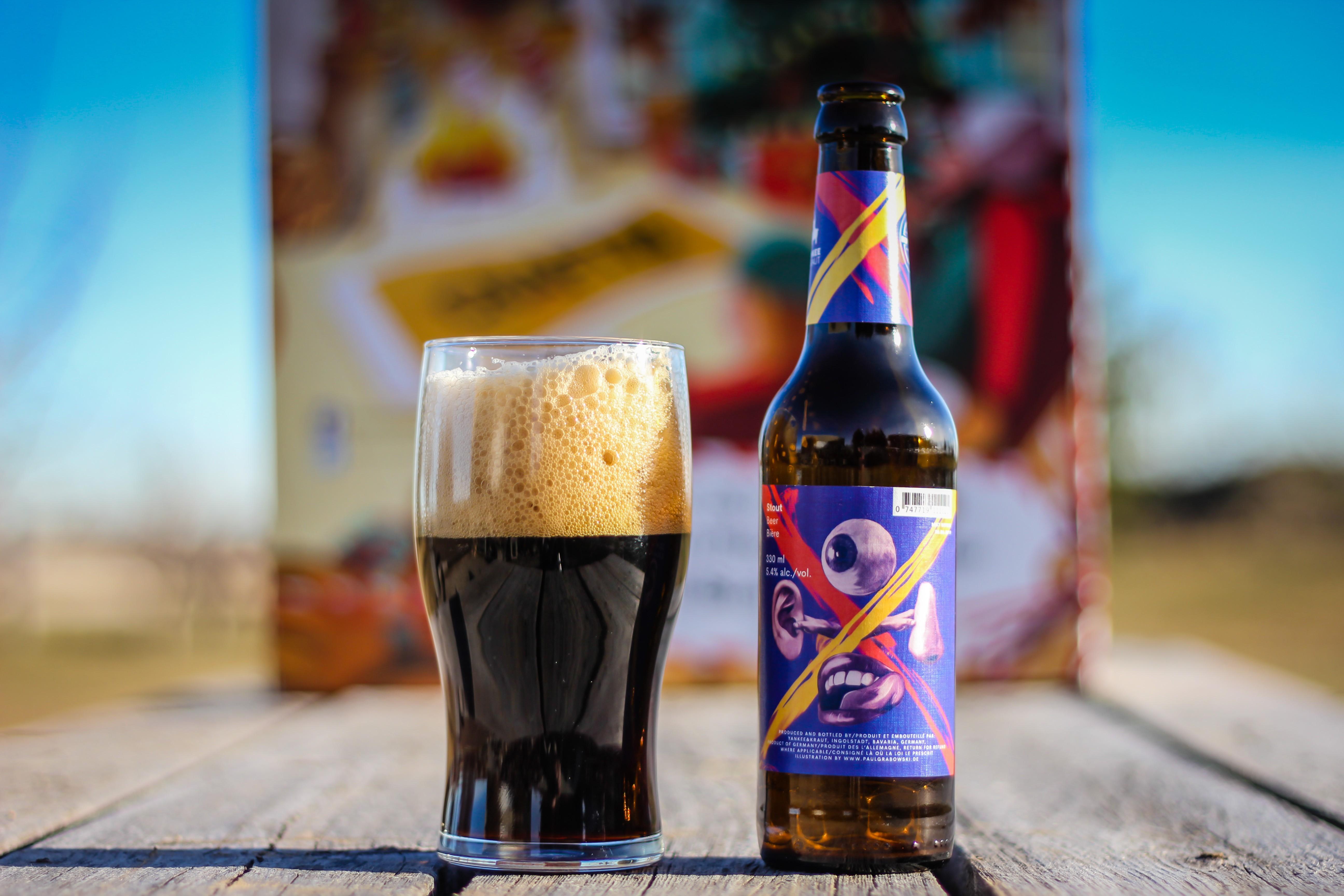 2018 Craft BeerAdvent Calendar: Yankee & Kraut Stout