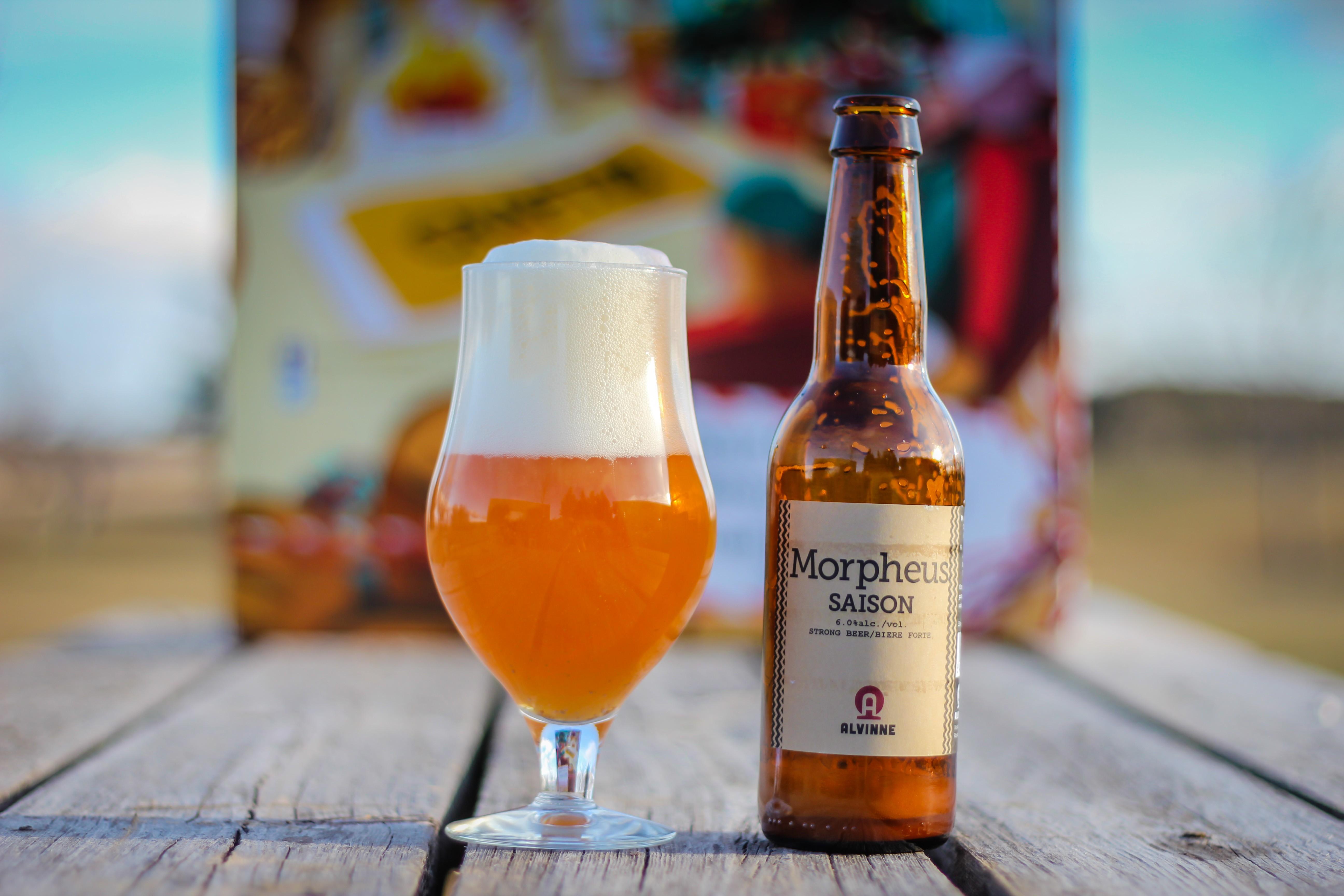 2018 Craft BeerAdvent Calendar: Brouwerij Alvinne Morpheus Saison