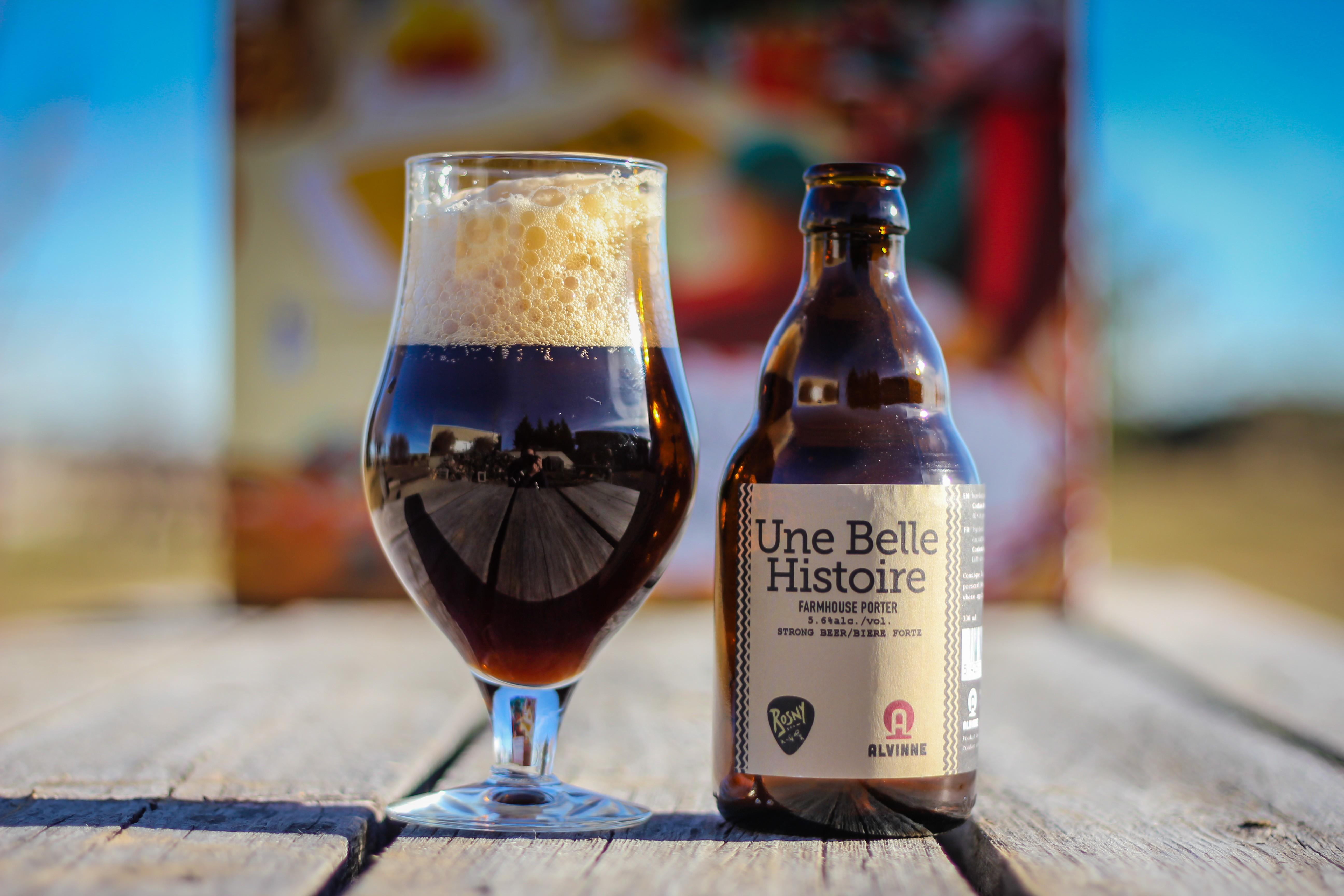 2018 Craft BeerAdvent Calendar: Brouwerij Alvinne Une Belle Histoire