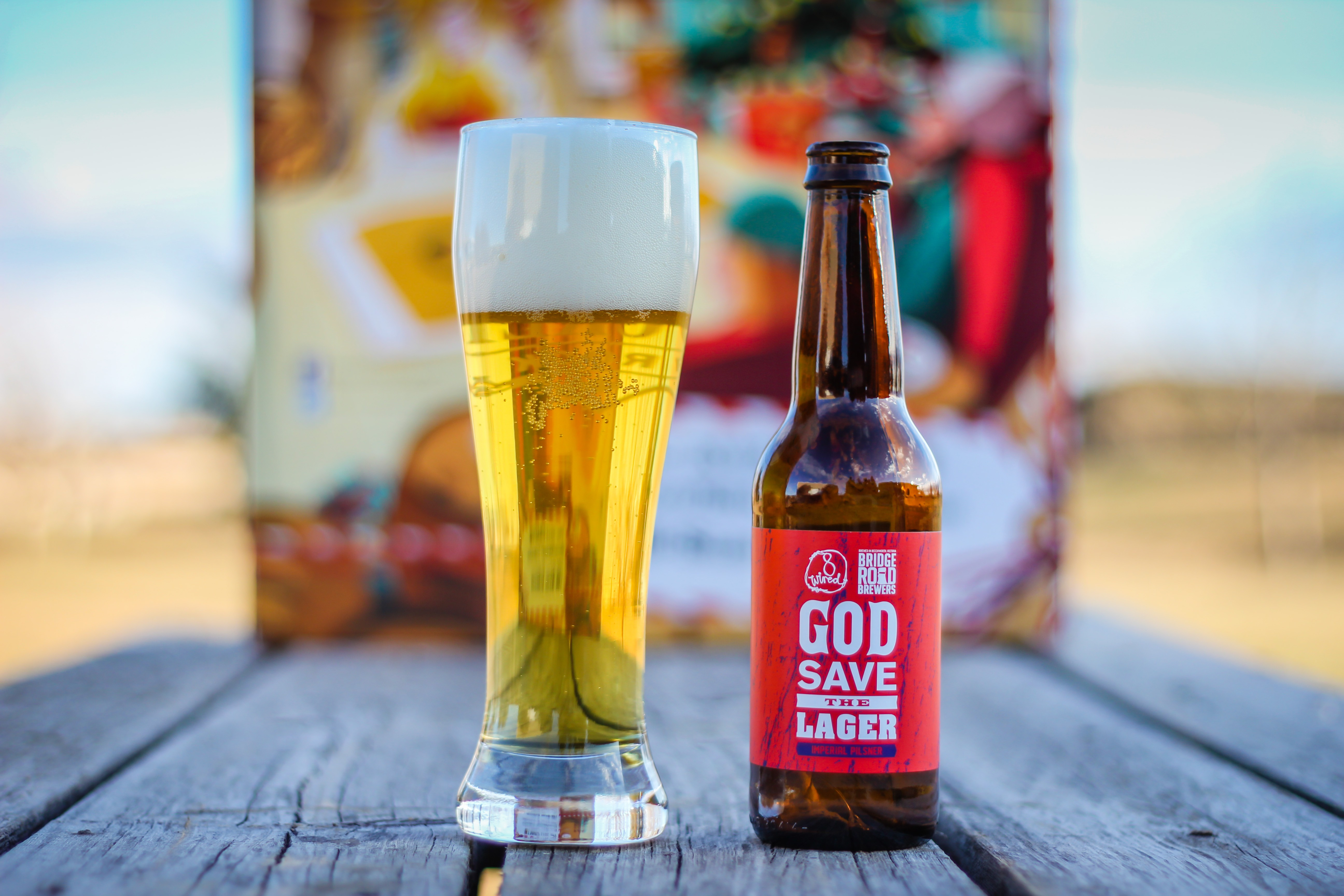 Day 24: 8 Wired Brewing/Bridge Road Brewers God Save The Lager
