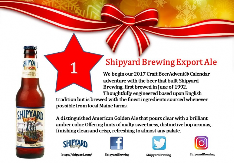 Shipyard Brewing Export Ale