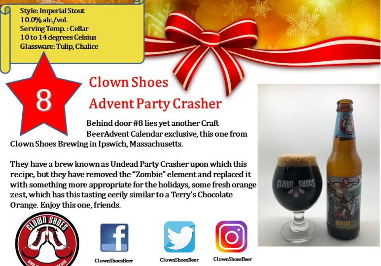 Clown Shoes Advent Party Crasher
