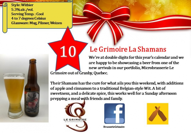 Microbrasserie Le Grimoire La Shamans