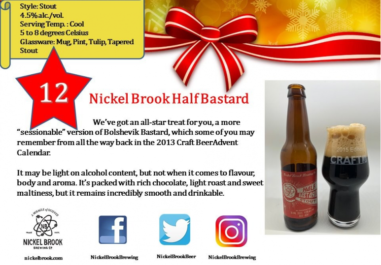 Nickel Brook Half Bastard