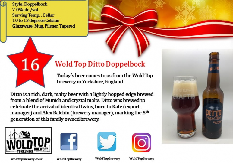 Wold Top Ditto Doppelbock