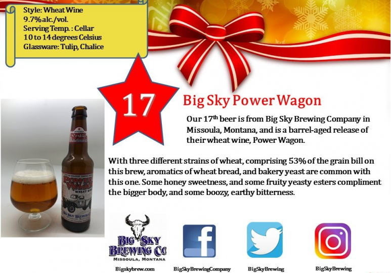 Big Sky Barrel Aged Power Wagon
