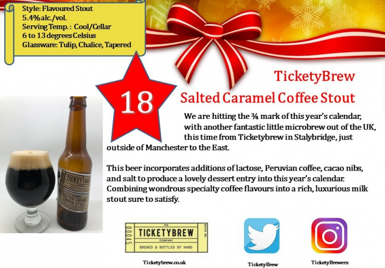 Ticketybrew Salted Caramel Coffee Stout