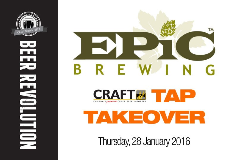 epic brewing tap takeover calgary