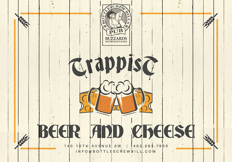 trappist beer and cheese calgary