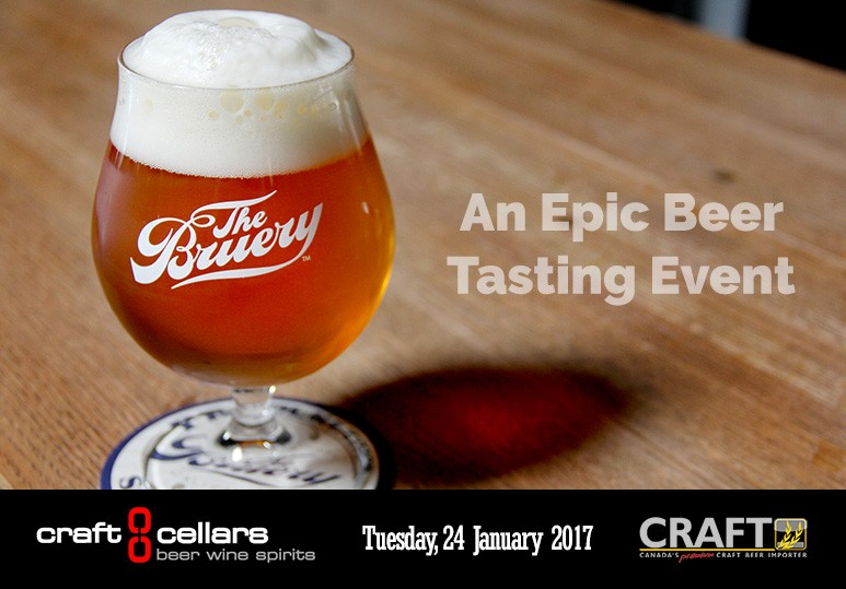 the bruery tasting in calgary