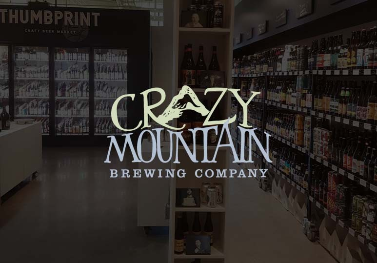 crazy mountain brewing at thumbprint airdrie