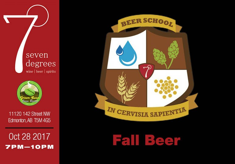 7degrees Beer School: Fall Beer