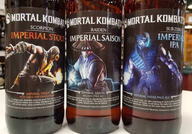 mortal kombat x beers canada