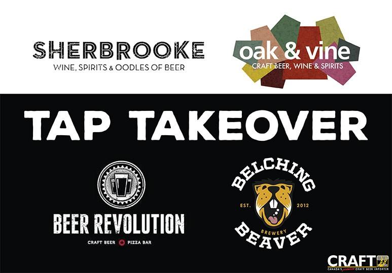 Tap Takeover Belching Beaver Calgary Edmonton Beer Revolution